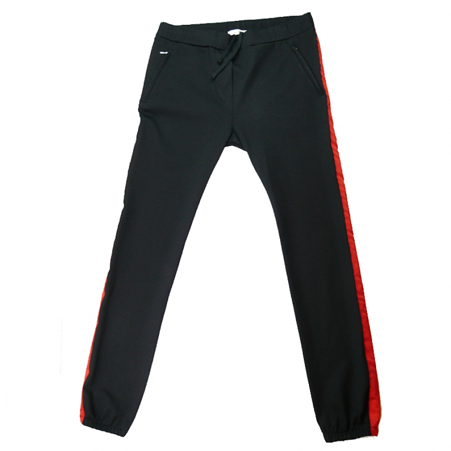 ByNMBR - ByNMBR perfect Pants black red
